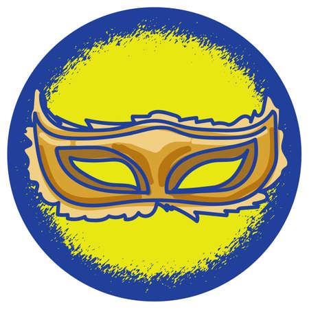 carnival costume: venetian carnival mask