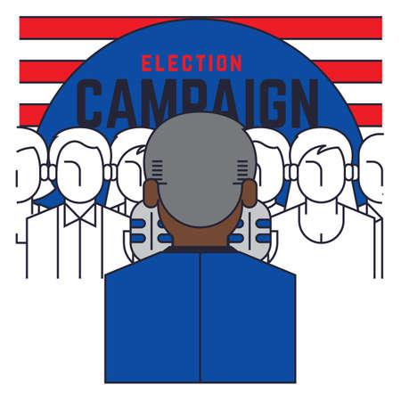 campaign: election campaign