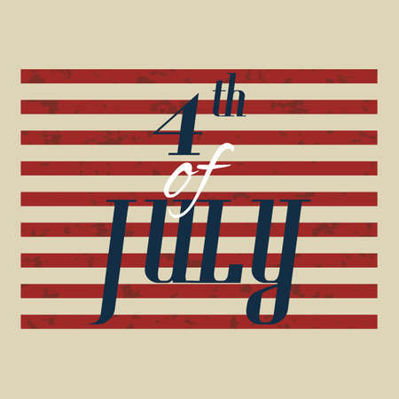 fourth july: fourth of july design