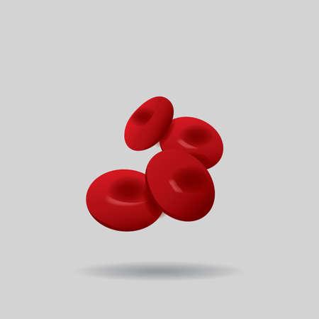 hemoglobin: red blood cells Illustration