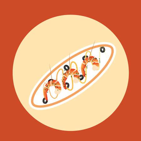 appetizer: shrimp appetizer
