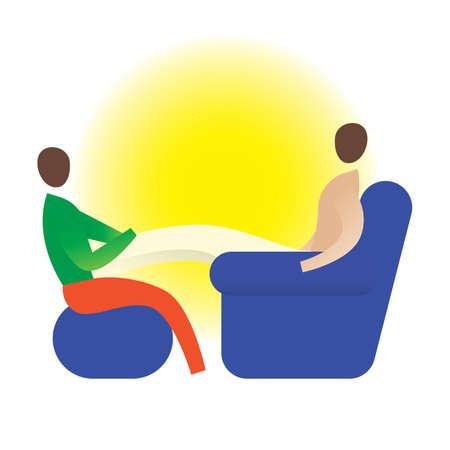 counselor: therapist giving a leg massage