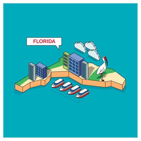 florida state: florida state Illustration