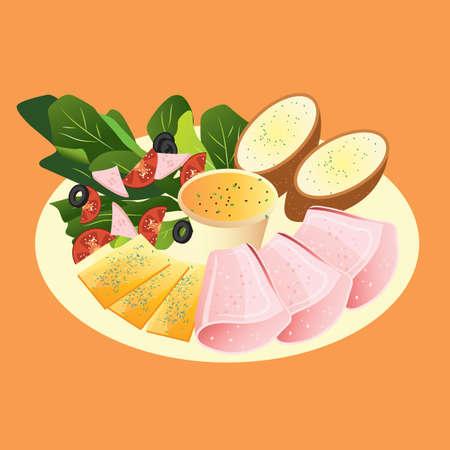 platter: food platter