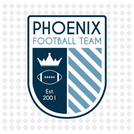 established: phoenix football team badge