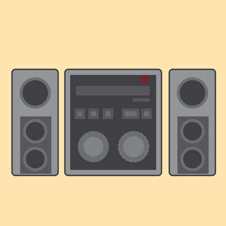 stereo: stereo system