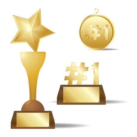 honors: gold awards set