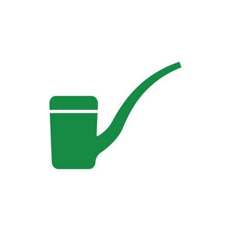 pipe smoking: smoking pipe