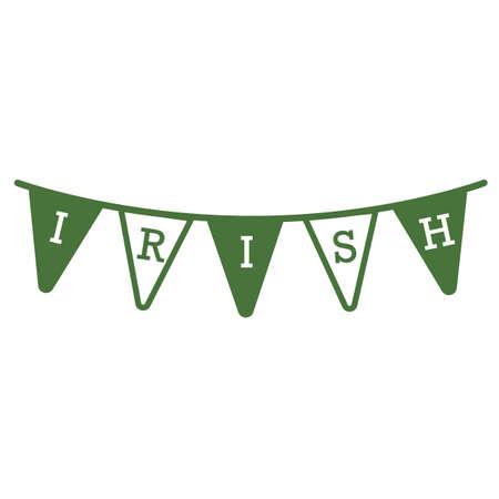 irish: irish bunting