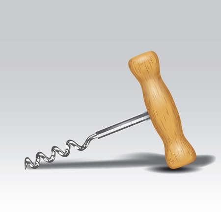 corkscrew: corkscrew Illustration