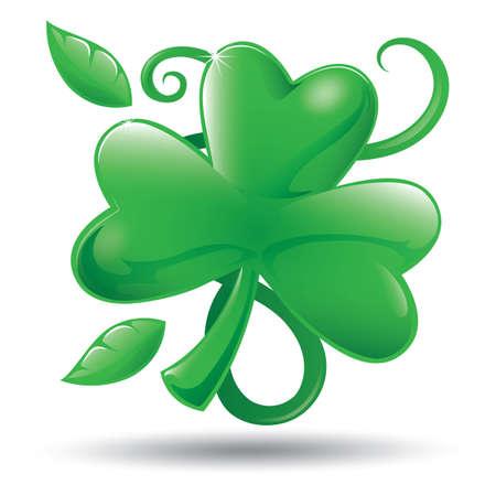 leaf: clover leaf