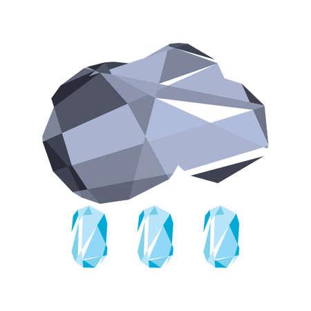 raining: raining cloud