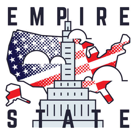 the empire state: empire state poster