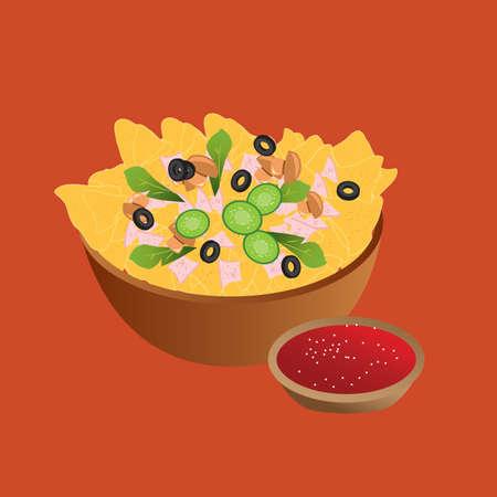 nachos: nachos