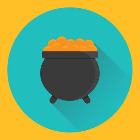 boiling pot: cauldron