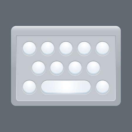 key pad: wireless keypad
