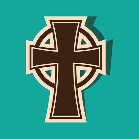 christian festival: christian cross Illustration