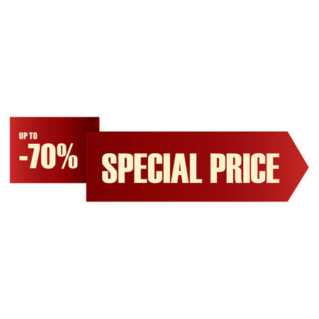 special price: special price label