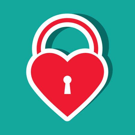 heart shaped: heart shaped lock