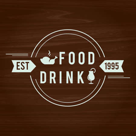 food: food and drink text