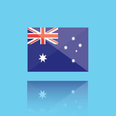 national identity: australia flag
