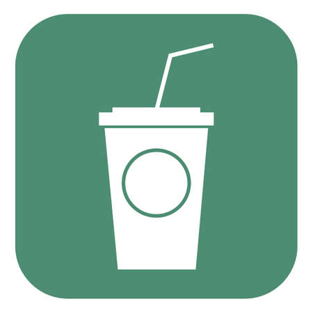 straw: paper cup with straw