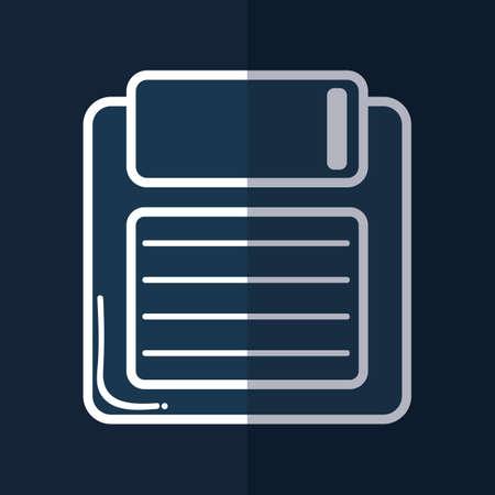 floppy: floppy disk