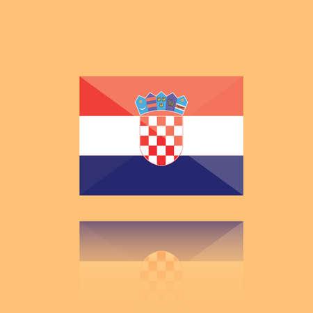 croatia: croatia flag