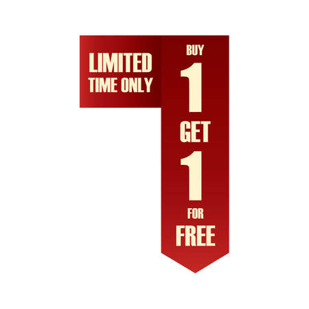 limited: limited time only label Illustration