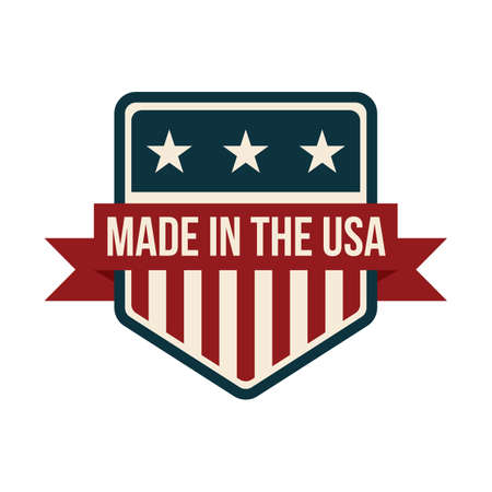 made in the usa label design