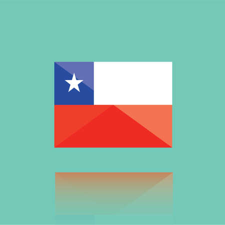 national identity: chile flag
