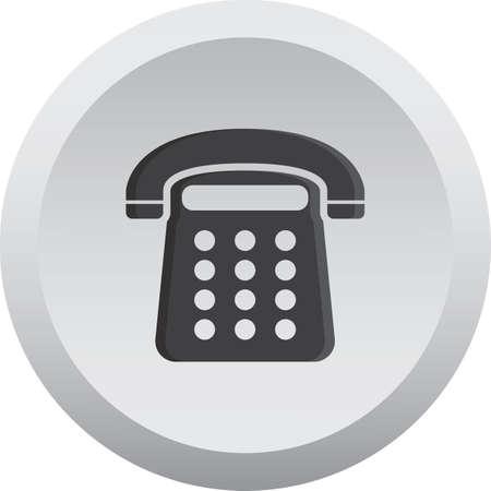 cable telefono: tel?fono Vectores