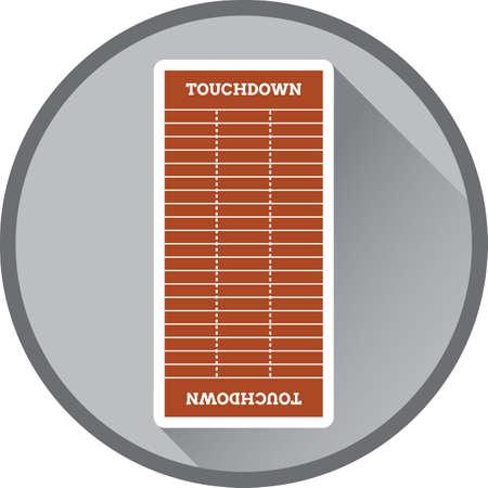 layout: football field layout