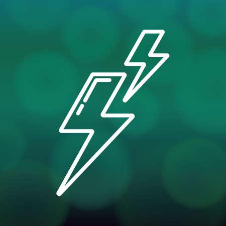 lightening: thunder lightening
