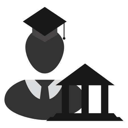 tassel: graduate student with building