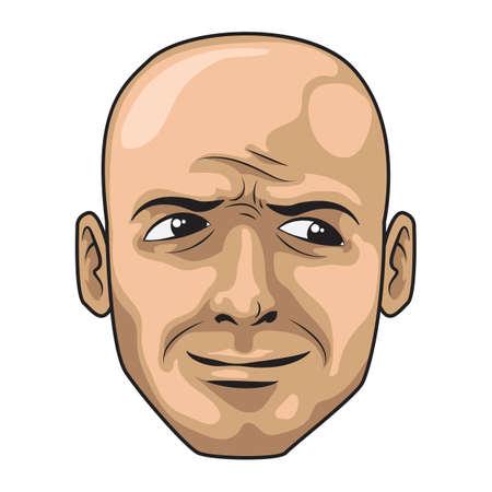 cheeky: cheeky expression man