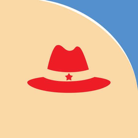 sheriff: sheriff hat