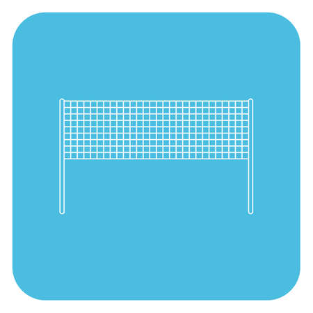 net: volleyball net Illustration