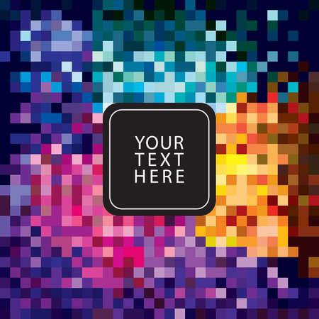 pixelated: abstract pixelated background