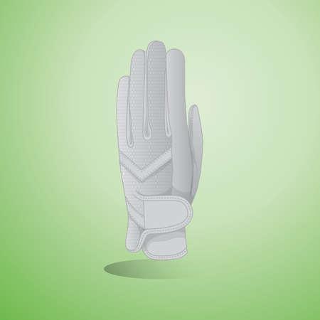 golf glove: golf glove Illustration