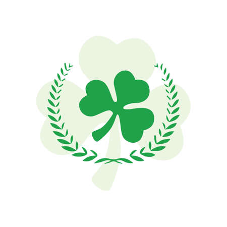 laurel leaf: saint patricks leaf