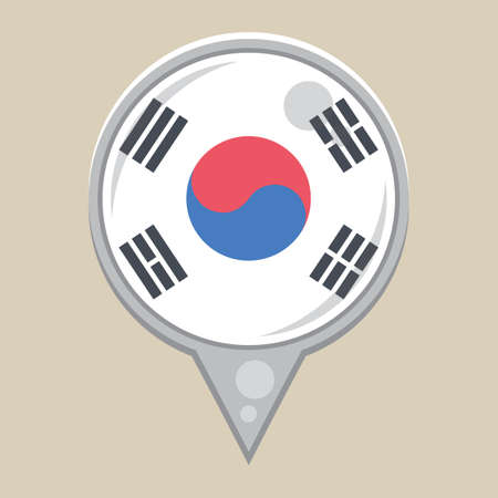 national identity: korean flag