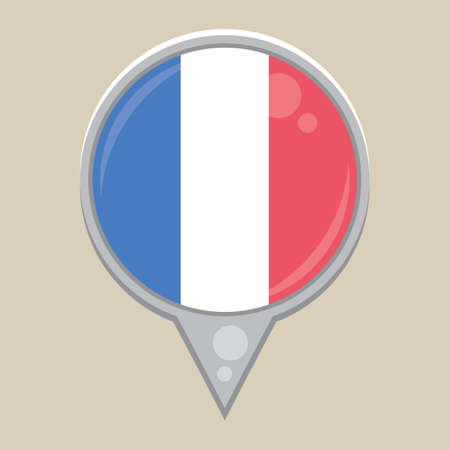 national identity: france flag