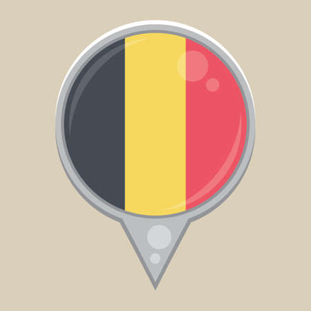 national identity: belgium flag