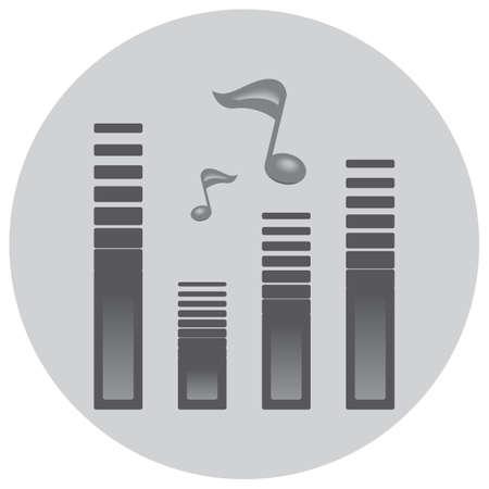 tunes: equalizer Illustration