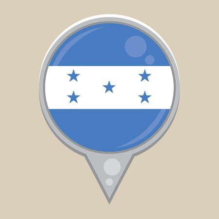 national identity: honduras flag