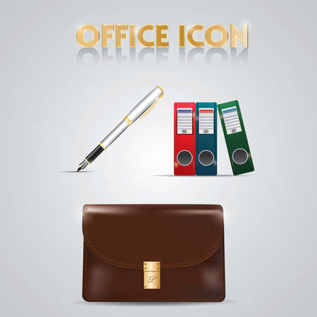 icons: office icons