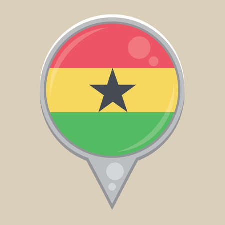 national identity: ghana flag