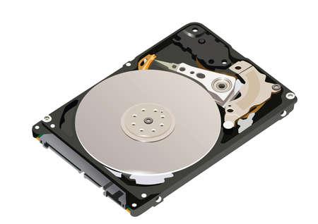 hard drive: hard disk drive