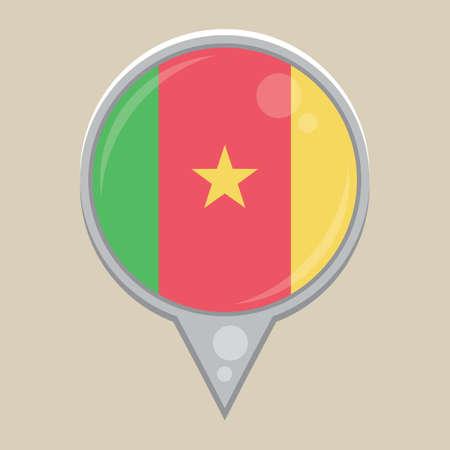 flag: cameroon flag